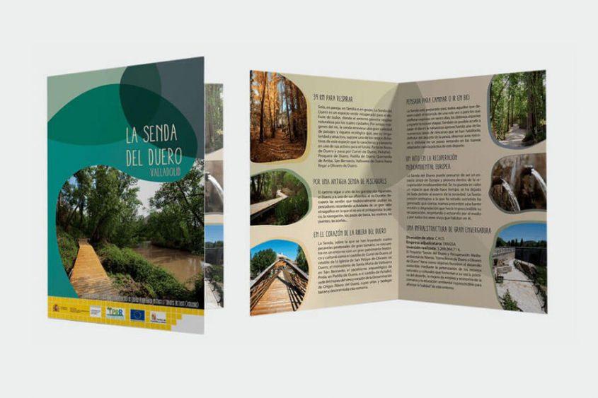 impresión de folletos a full color