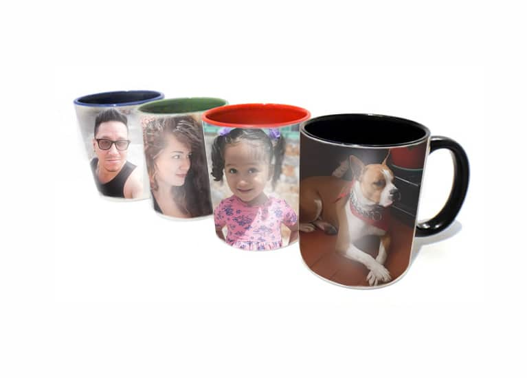 Mug personalizados colores