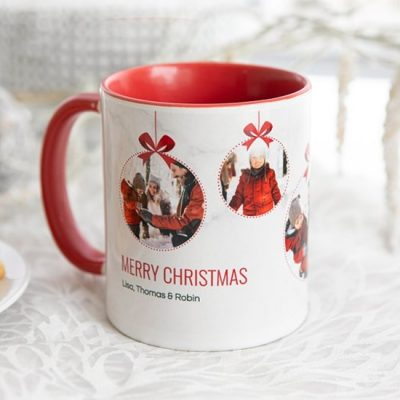 Mugs color interno personalizados