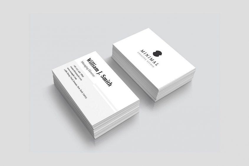 tarjetas de presentación ejecutivas - elegantes