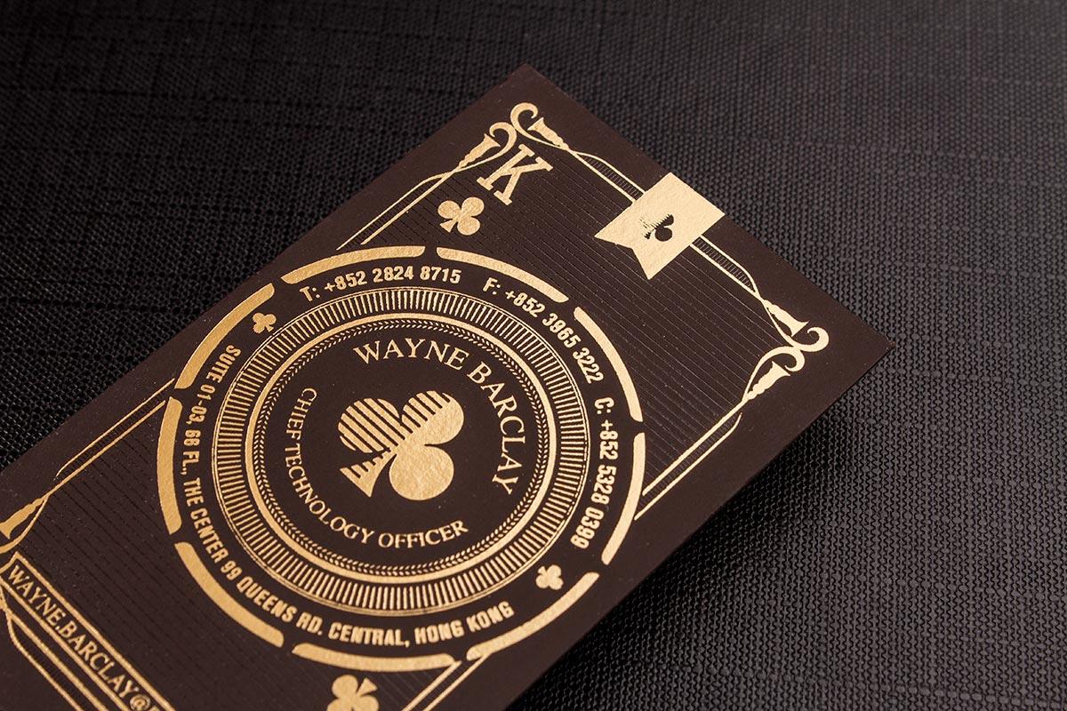 tarjetas doradas
