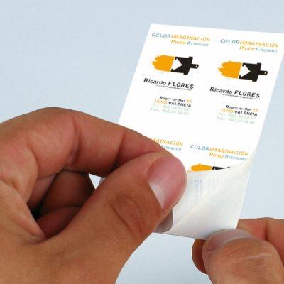 impresión de etiquetas adhesivas Bogotá