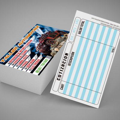 tarjetas de presentación brillantes-por cupo