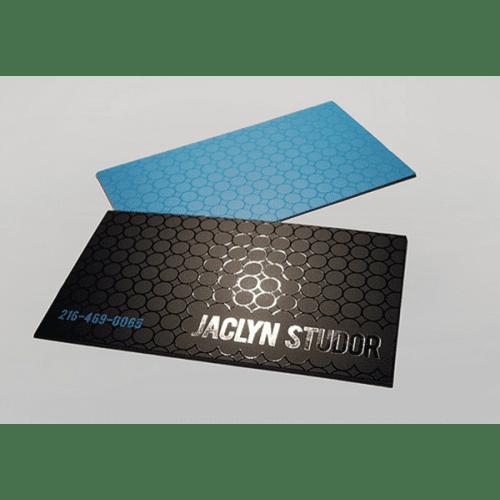 tarjetas de presentación mate uv
