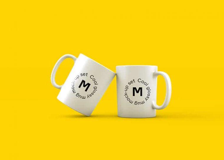 Mugs blancos personalizados
